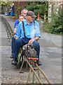 TL7306 : Miniature Train, Sandford Mill, Chelmsford, Essex by Christine Matthews