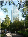 TQ3780 : London Cityscape : Jubilee Park, Canary Wharf by Richard West