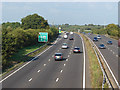 TQ0555 : The A3 near Ripley by Alan Hunt