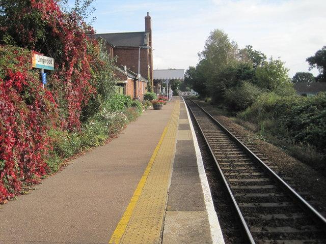 Lingwood railway station, Norfolk