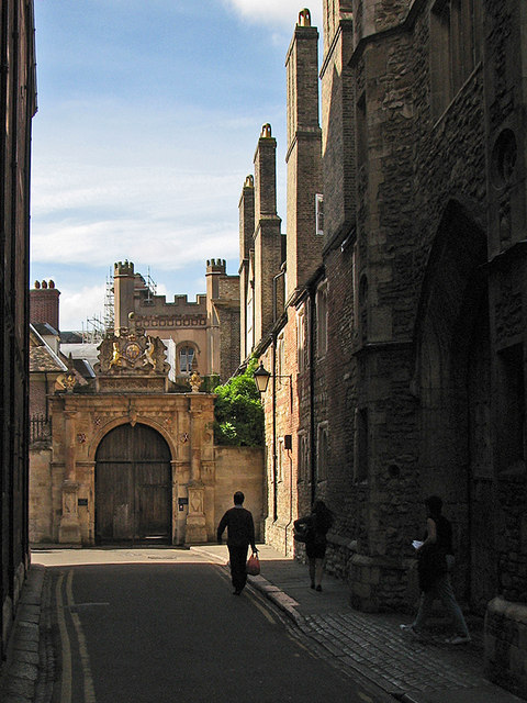 Trinity Lane and Nevile's Gate