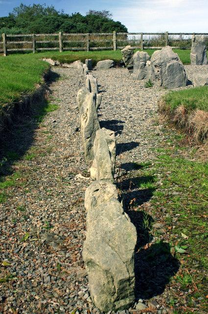 Drumskinny alignment Drumskinny Road