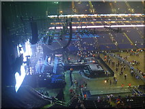 TQ3980 : London Interiors : Empty Stage At The O2 Arena by Richard West