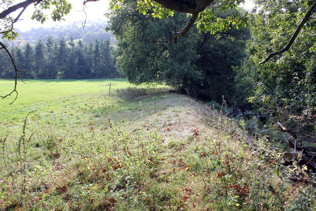Offa's Dyke on the Chirk Castle Estate