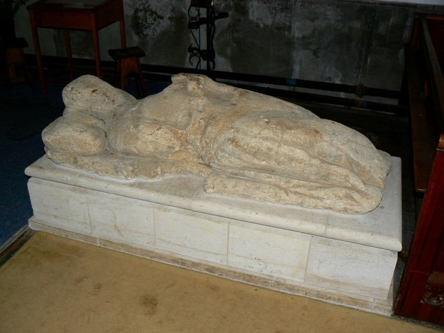 Effigy of Sir Robert Hungerford, St Lawrence's Church, Parsonage Lane, Hungerford
