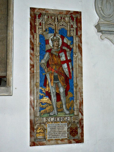 Great War memorial, St Lawrence's Church, Parsonage Lane, Hungerford