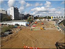TQ3265 : Demolition site alongside East Croydon station by Stephen Craven
