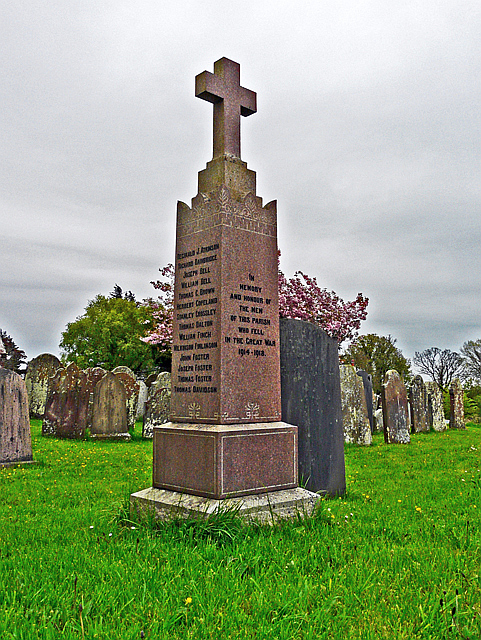 War Memorial, Bowness-on-Soloway