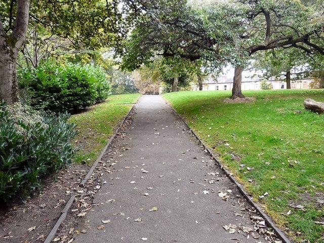 Footpath in Edgeley Park