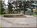 SJ8889 : Flowerbed in Edgeley Park by Gerald England