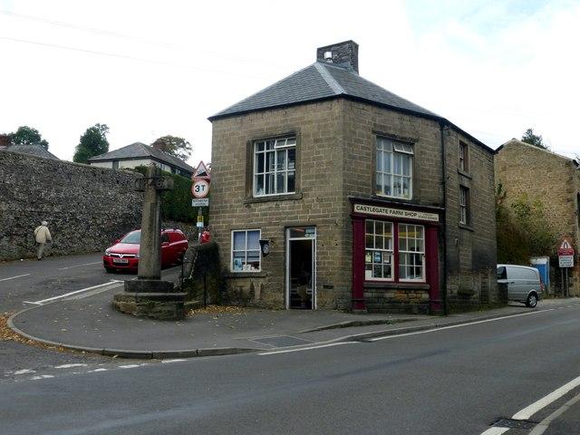 Farm shop in Stoney Middleton