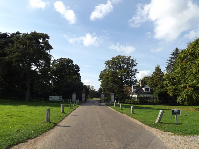 Entrance to The Ickworth Hotel