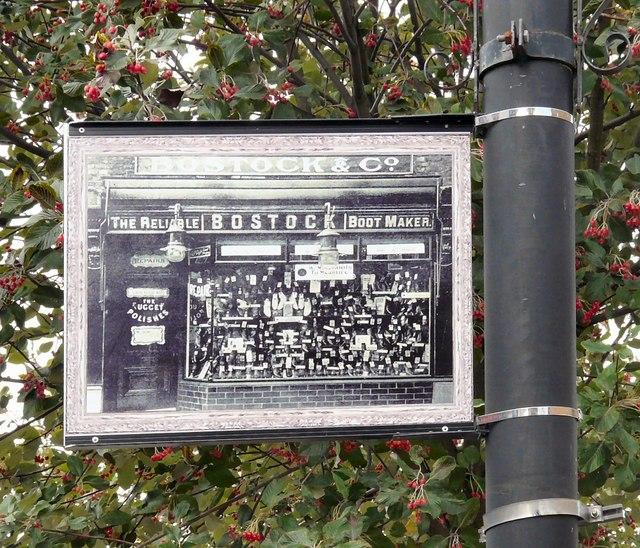Edgeley Lamppost: Bostock & Co
