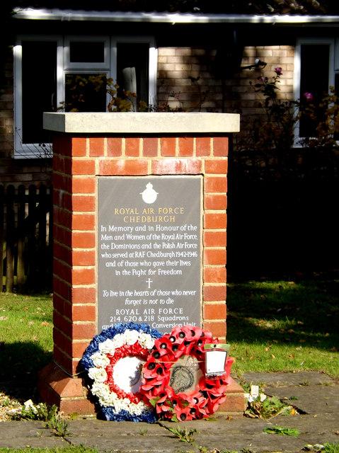 Memorial to RAF Chedburgh