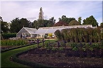 TQ3499 : Greenhouse, Myddelton House and Gardens by Jim Osley