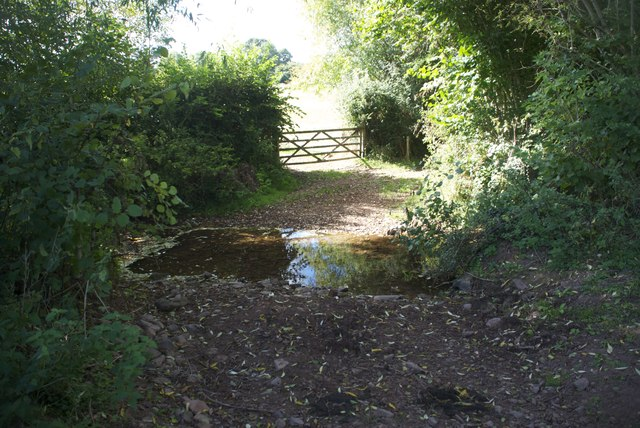 Ford at Wootton Courtenay