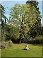 TQ3499 : Sundial, Myddelton House and Gardens by Julian Osley