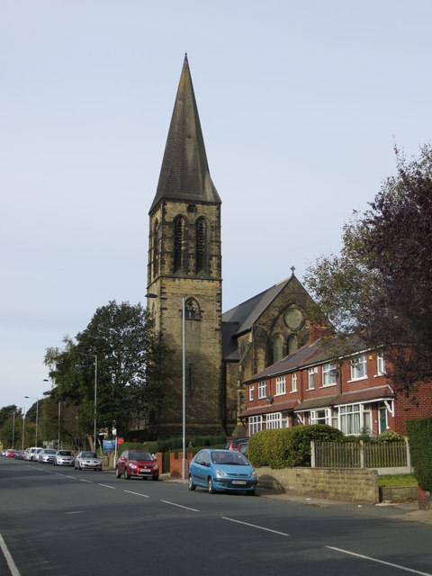The Church of St James at Thornton