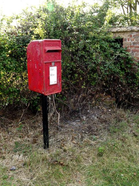 Hundon Hall Postbox