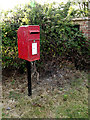 TL7449 : Hundon Hall Postbox by Adrian Cable