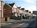SO9390 : South on Grange Road at its junction with School Street, Dudley by Robin Stott