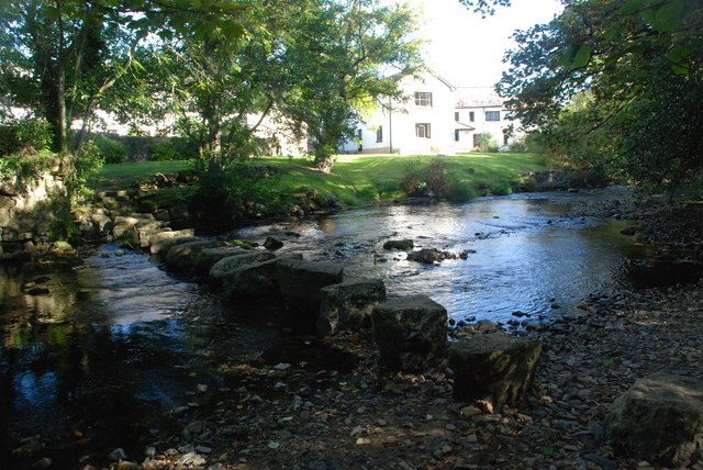Ford and Stepping Stones at Dunsford