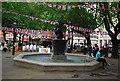 TQ2778 : The Venus Fountain, Sloane Square by N Chadwick