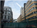 TQ3380 : London Cityscape : Streetworks In The Minories EC3 by Richard West