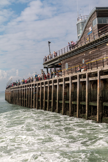 Steaming Away from Southend Pier, Southend-on-Sea, Essex