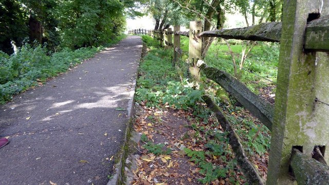 Public Footpath from Arlington Row to Arlington Mill