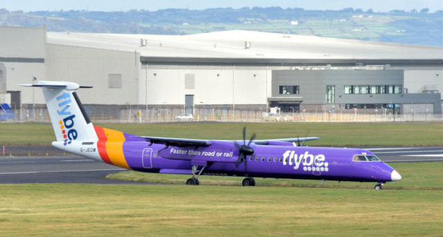 G-JEDW, George Best Belfast City Airport (October 2014)