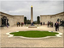 SK1814 : The Armed Forces Memorial at the National Memorial Arboretum by David Dixon