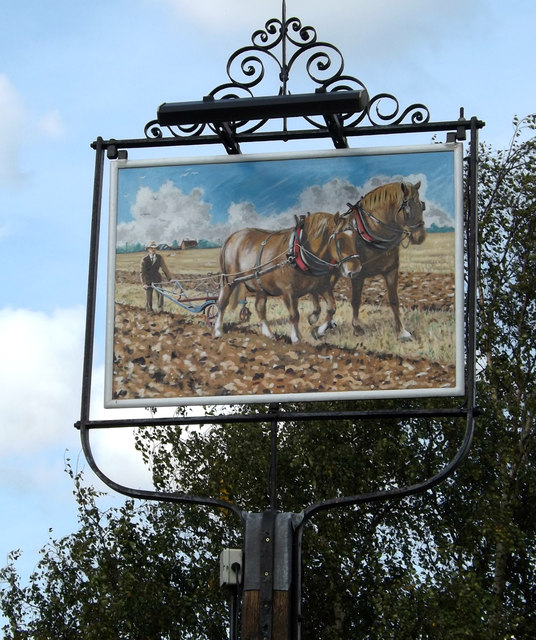 Plough Inn Public House sign
