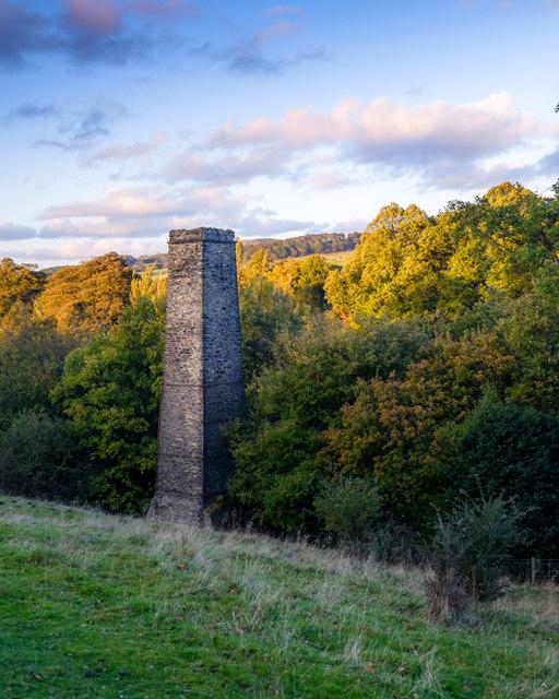 Ingersley Vale Mill Chimney