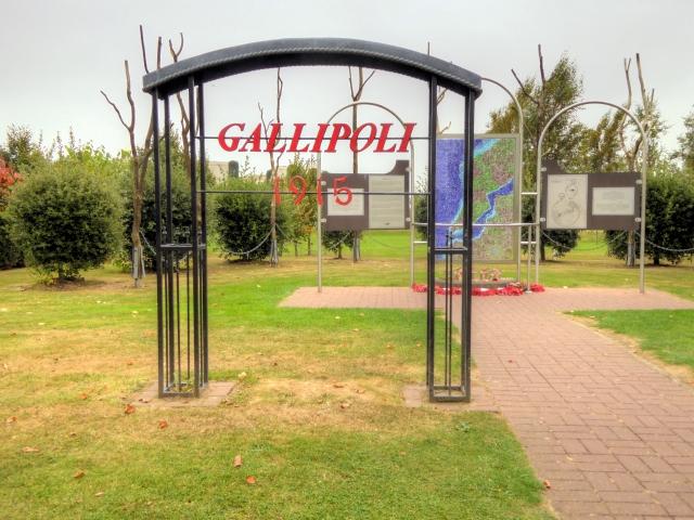 Gallipoli Memorial at the National Memorial Arboretum