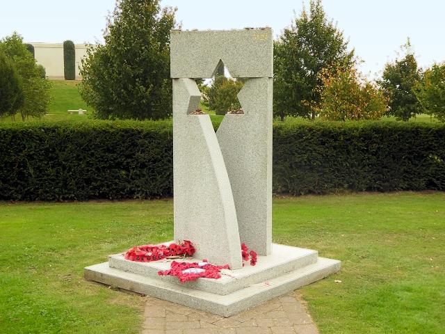 Memorial to Jewish Ex-Servicemen and Women at the National Memorial Arboretum