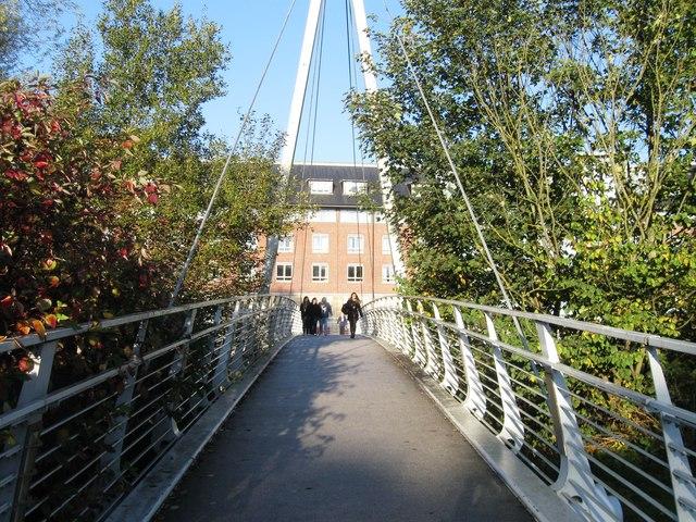 Footbridge over the River Wear