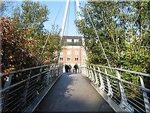 NZ2742 : Footbridge over the River Wear by Alex McGregor