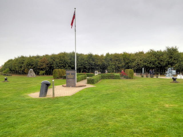 National Memorial Arboretum, View Towards the Merchant Navy Memorial