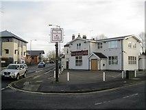 SP3065 : Indian restaurant in the former Greyhound pub, Bridge Street, Warwick by Robin Stott