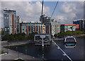 TQ4080 : Emirates Air Line gondola, Royal Docks by Ian Taylor