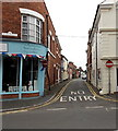 SJ5128 : No Entry to Chapel Street, Wem by Jaggery