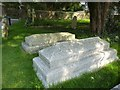 SY7191 : Grave containing Thomas Hardy's heart, Stinsford, Dorset by Becky Williamson