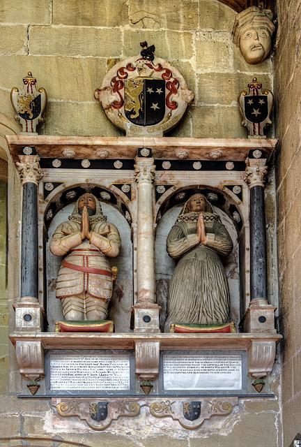 All Saints Church, Gresford - monument to Sir Richard Trevor