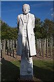 SK1814 : National Memorial Arboretum - Shot at Dawn Memorial by Mike Searle