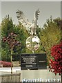 SK1814 : Royal Air Forces Remembrance Garden, Winston the Eagle by David Dixon