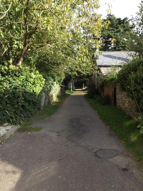 Path to All Saints Church