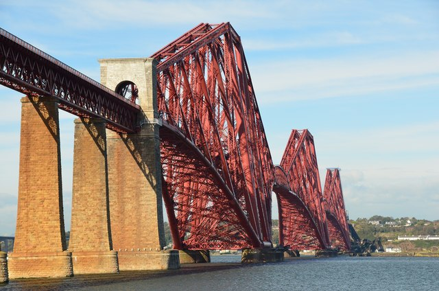 The Forth Bridge from the southeast