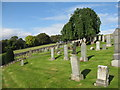 NT4644 : Cemetery at Stow by M J Richardson