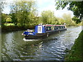 TQ1683 : Narrow boat on the Paddington Arm of the Grand Union Canal by Marathon